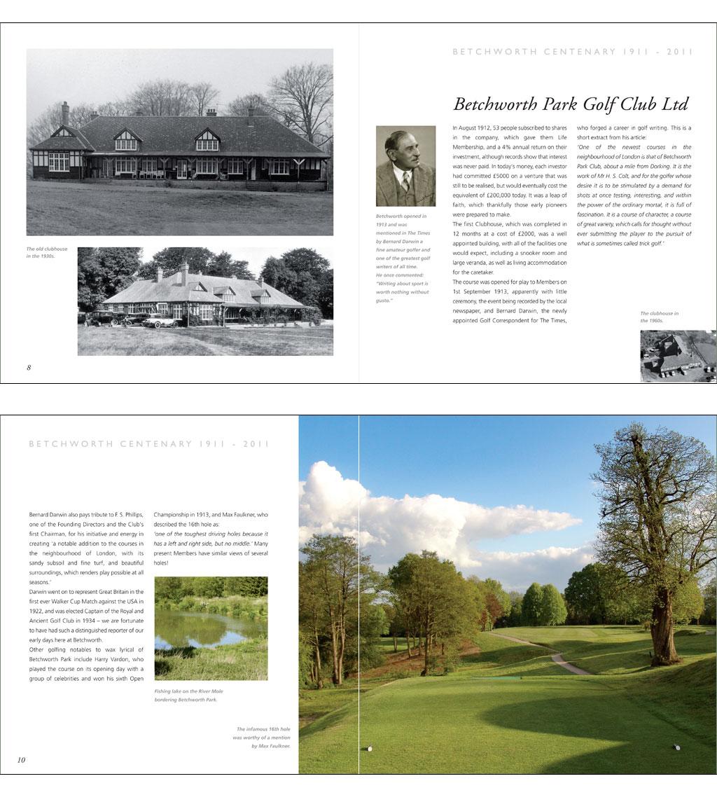 Betchworth Centenary Brochure