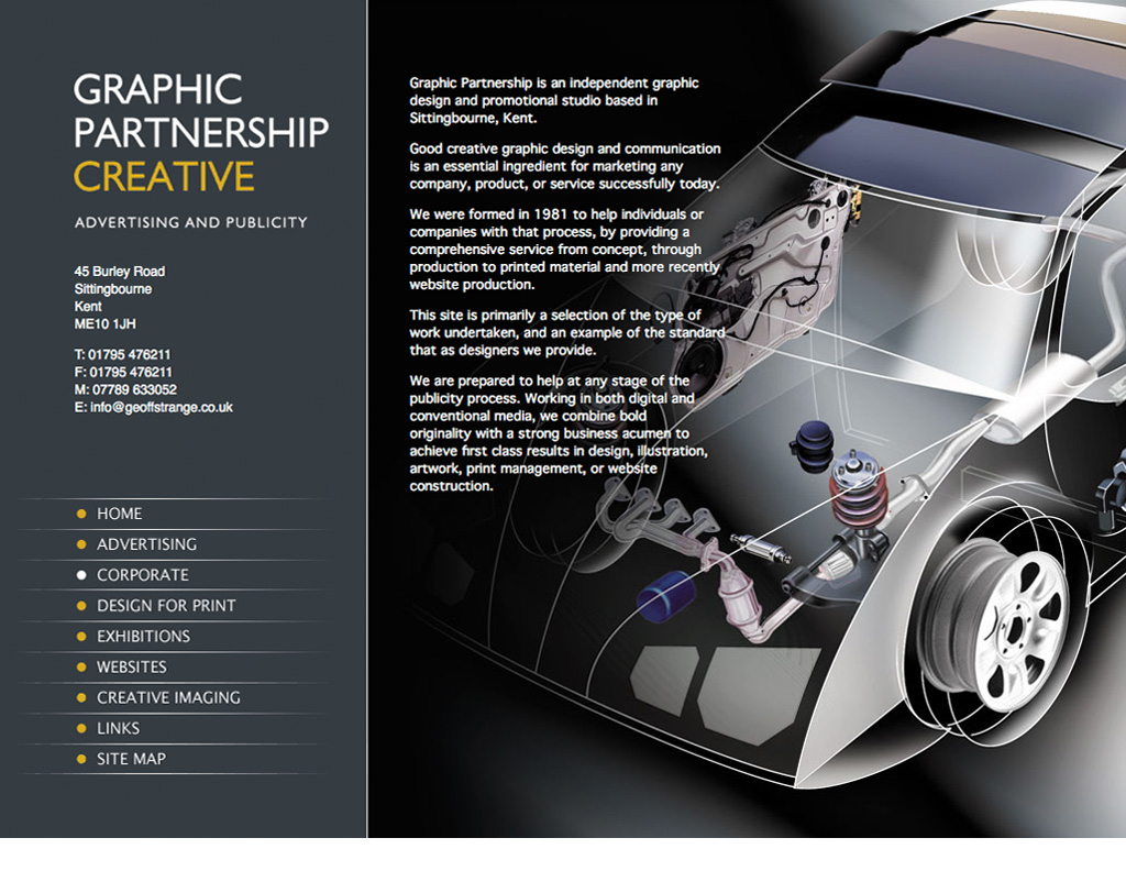 Graphic Partnership Web Site