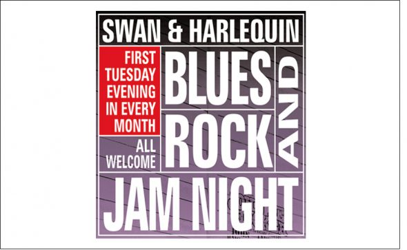 Swan and Harlequin Jam Night