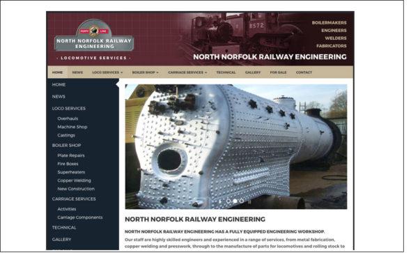 North Norfolk Railway Engineering