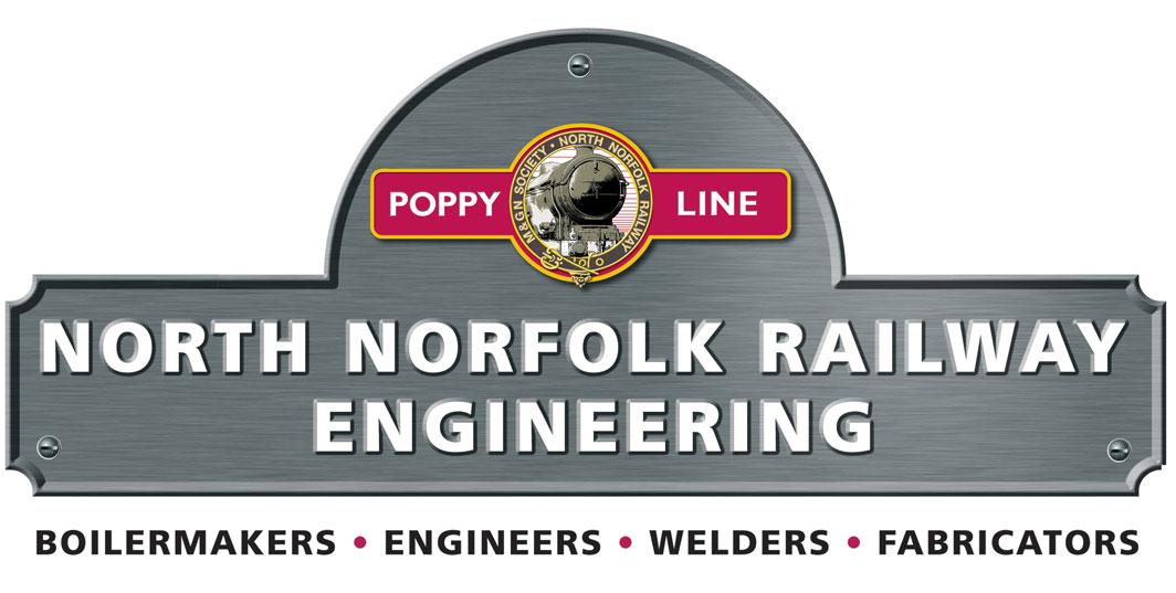 North Norfolk Railway Engineering Logo